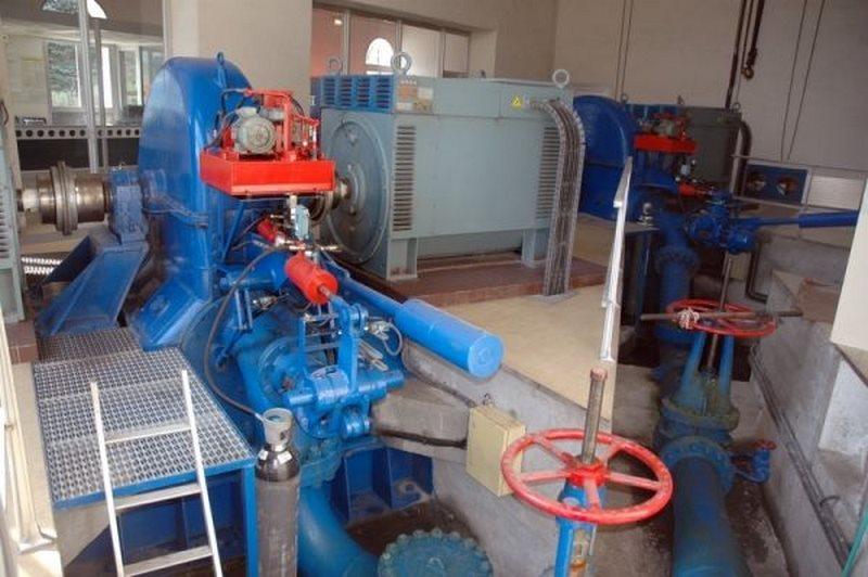 2 turbines Pelton de 3000 CV