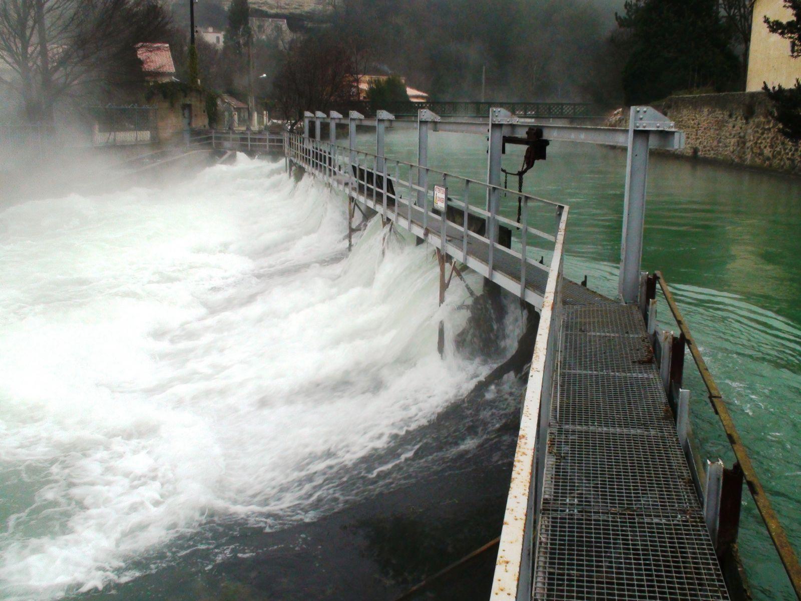 photo du barrage