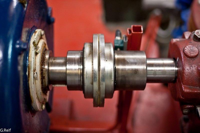 accouplement d une turbine Francis et d une génératrice