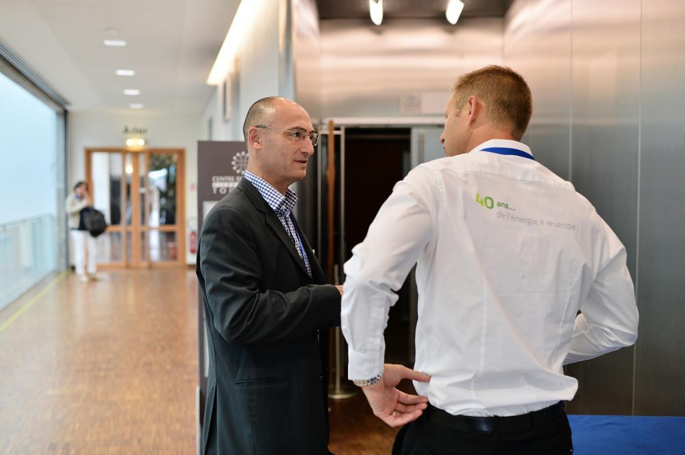 Antoine Guibert et Dominique Blaise président Hydro BV