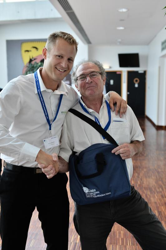 Antoine Guibert et Jean Philippe Reiller Président Alpes Hydro