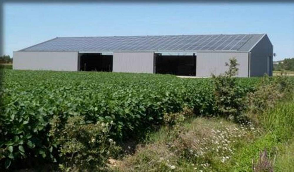 Centrale photovoltaïque en toiture