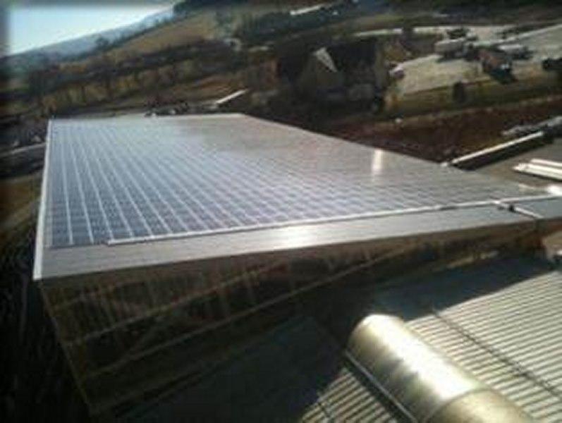 Centrale PV en toiture