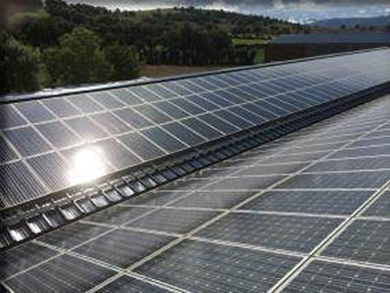 Centrale solaire en toiture