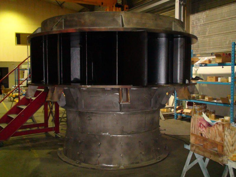 distributeur d une turbine Kaplan de 1 MW