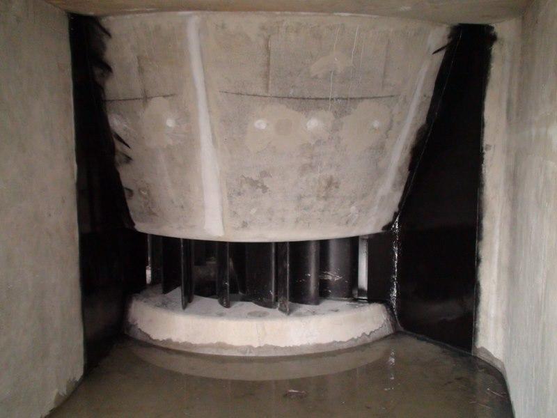 distributeur d une turbine Kaplan double réglage