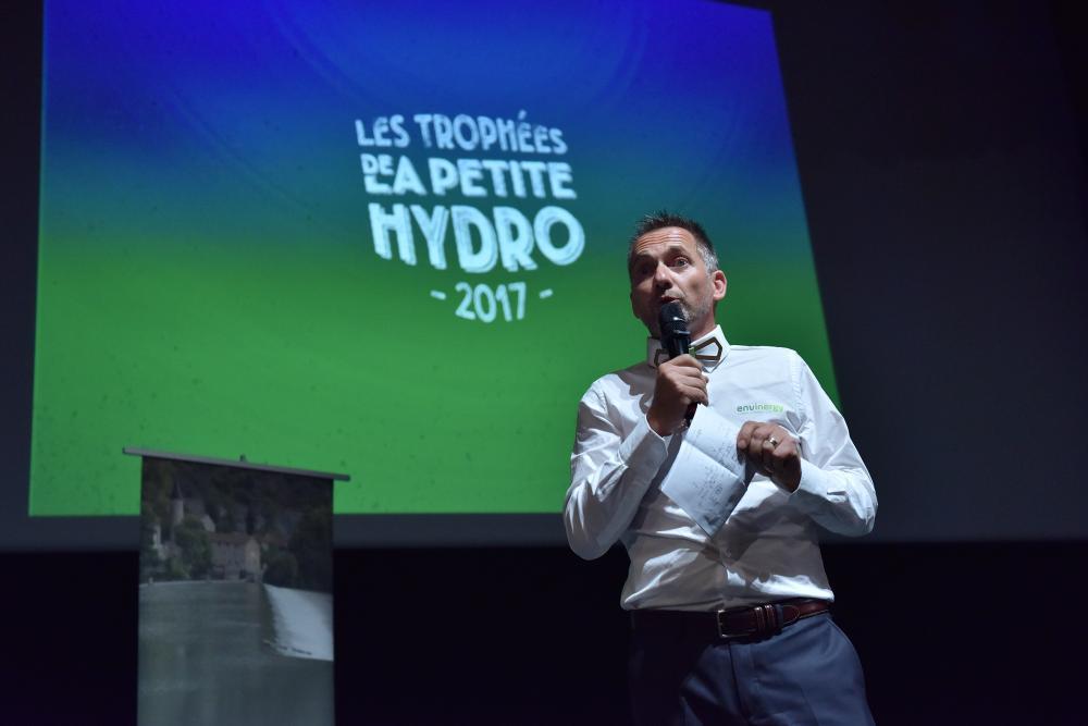 Eric Reisse aux trophées de la petite hydro