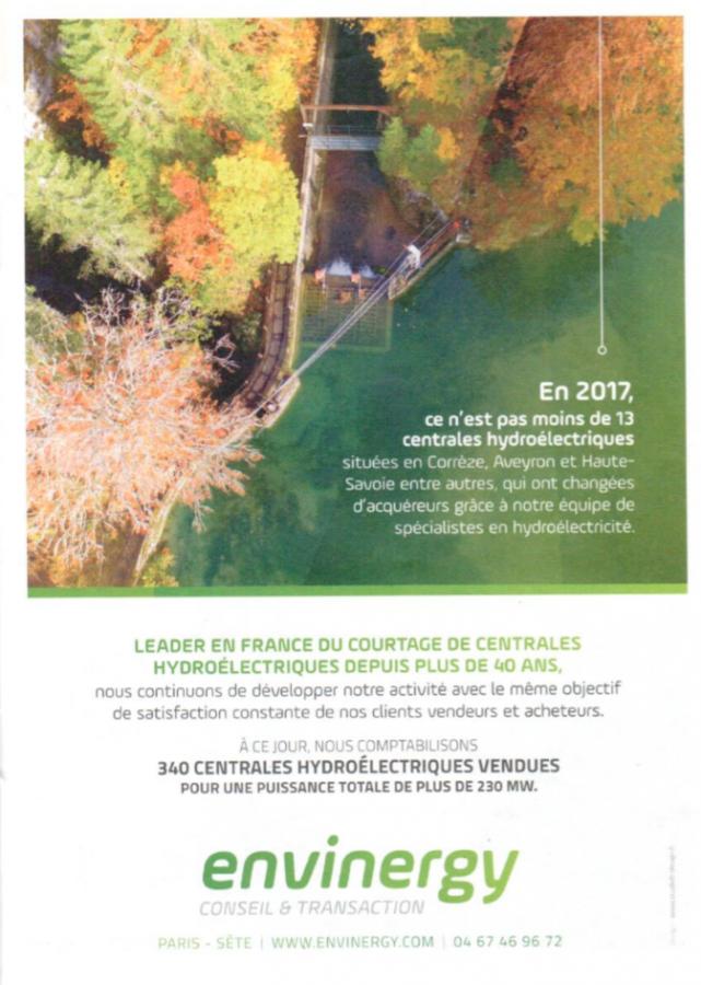 Janvier 2018, publicité Envinergy, p25