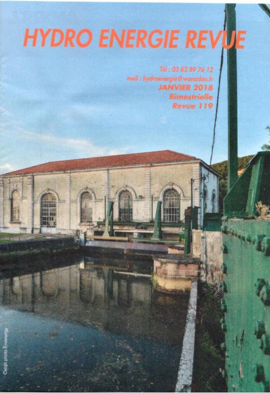 Couverture Janvier 2018, N°119, centrale de Mathay