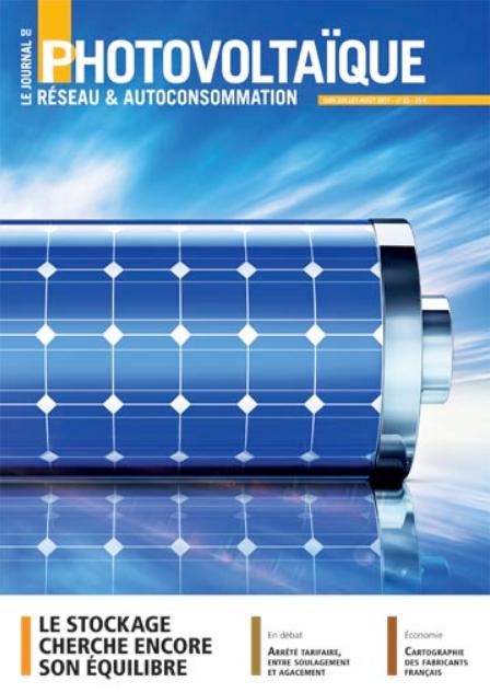 Juin-Juillet-Août 2017, Le Journal du Photovoltaïque, N° 26