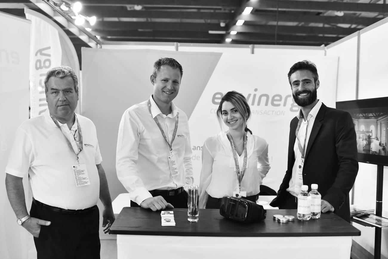 L'équipe aux 10èmes Rencontres France Hydro Electricité à Arles