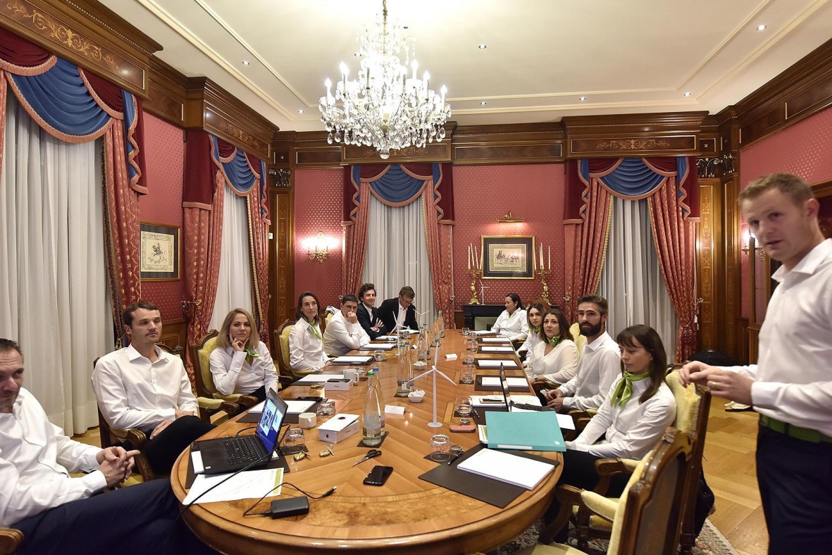 L'équipe Envinergy au complet pour le séminaire de fin d'année