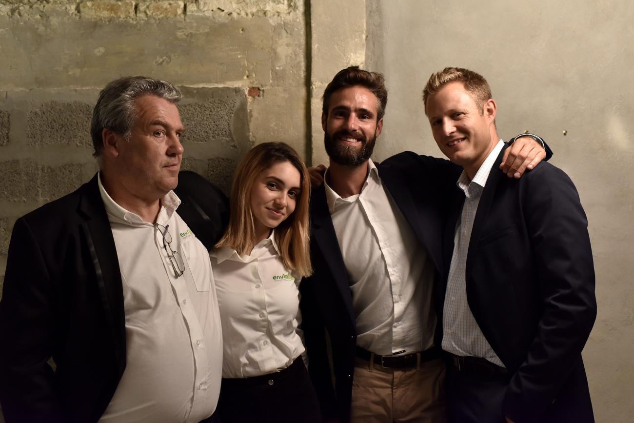 Jean-Paul Loyau, Wassila ,Simon Collot et Antoine Guibert aux journée FHE à Arles