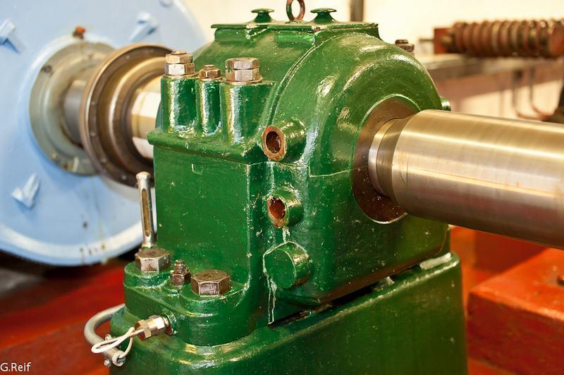 palier d une turbine Francis Neyrpic