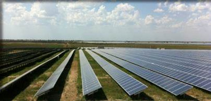 Parc photovoltaïque au sol