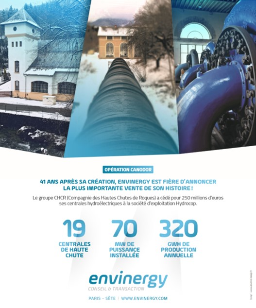 Publicité Envinergy, Puissance Hydro N°5