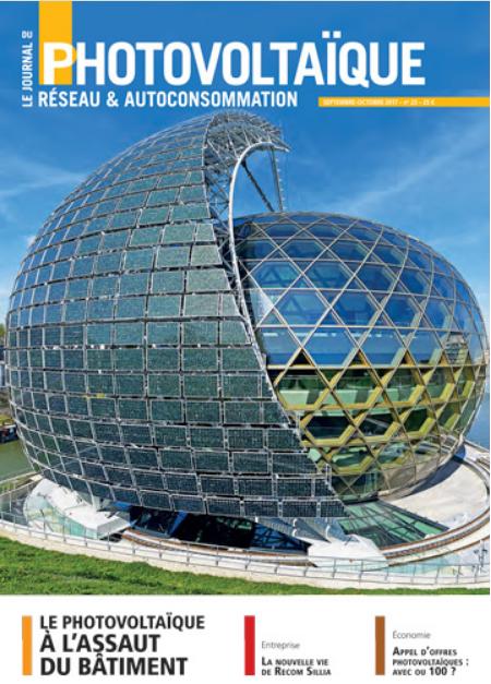 Septembre-Octobre 2017, Le Journal du Photovoltaïque, N° 23