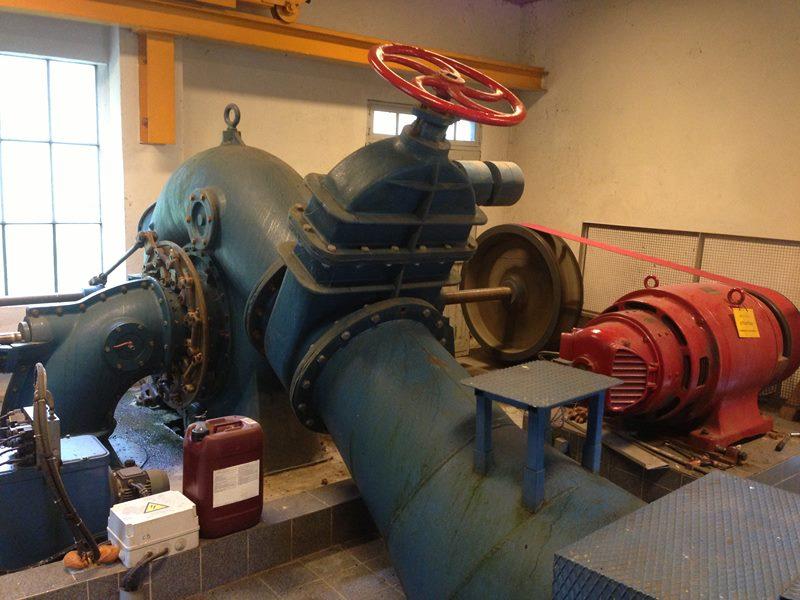 turbine Francis double
