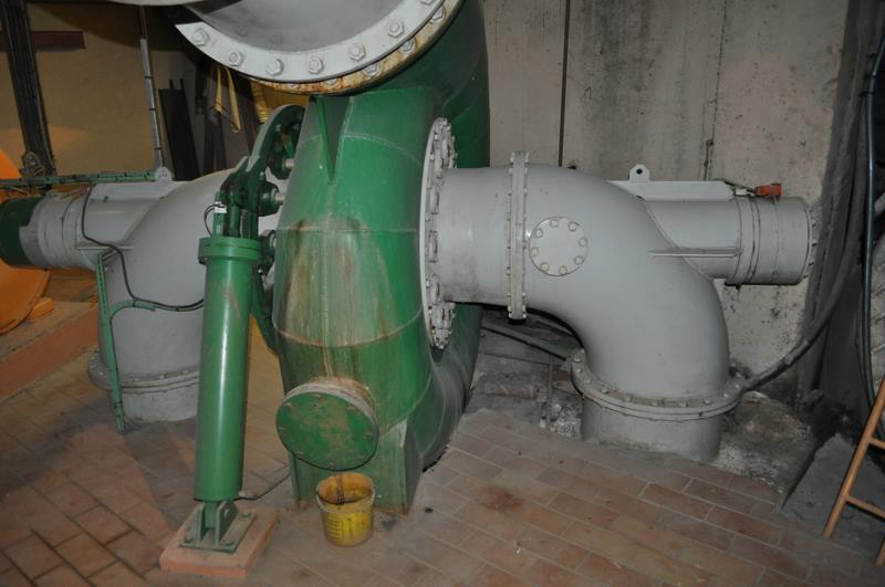 turbine francis double Robert