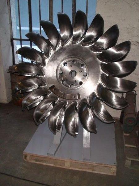 turbine Pelton de 3,5 MW