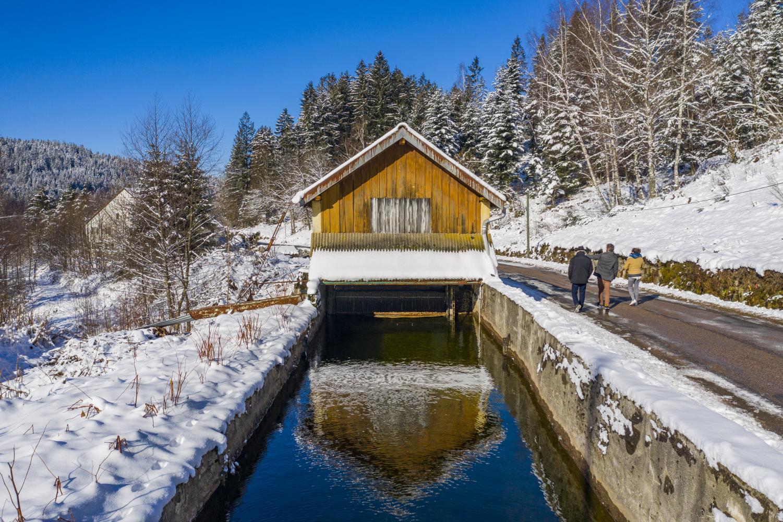 Cession de 4 centrales hydroélectriques situées dans les Vosges